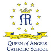 Queen of Angels Catholic School logo