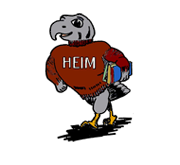Heim Middle School logo